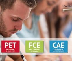 Abierta matrícula exámenes de Cambridge 2021